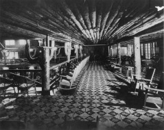 Grove Park Inn lobby from back in the day